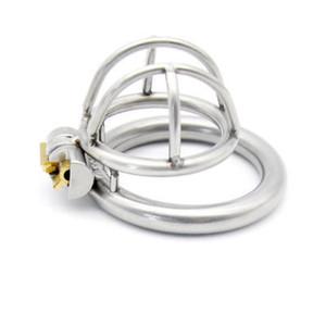 Мужской небольшой продажи металла пояса целомудрия устройство Дик Кейдж петух замок Кейдж #R43