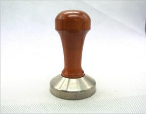 Кофе эспрессо Шпалоподбойка деревянная ручка кофе Шпалоподбойка 49ММ 50мм 51мм 52мм 53мм 57мм 58мм кофе давление порошок давление бар инструмент