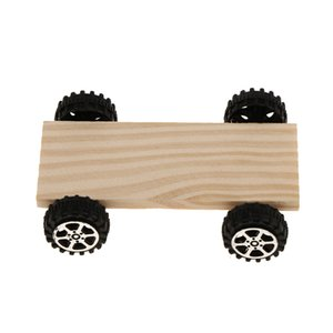 Unfinished Bois Toy Car Sous Pan Polymer Clay Kid bricolage Craft Modélisation