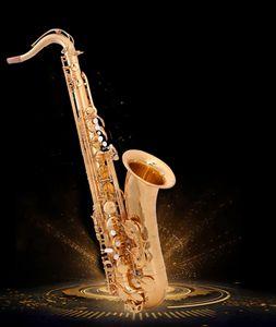 Yanagisawa T-991 Nuovo arrivo Bb Tenor Saxophone strumento musicale oro Tenor Sax professionale di trasporto boccaglio