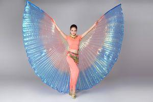 women belly dance wings Adults Dance Wear Costume Isis Colorful Wings Butterfly Oriental Design