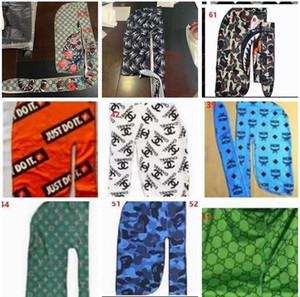 Designer Durag Stirnband Piratenhut Bandanas für Männer und Frauen 81 Designs Marke Silky Durags Du-Rag Bandana Headwraps Hip Hop Caps Leiter Wraps