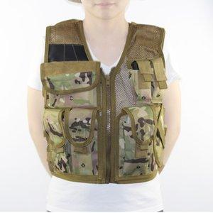 Big Discount Outdoor Multi-pocket Tactical Mesh Vest hunting Hunting Jacket Fishing Vests Adjustable Size Hunting Clothes