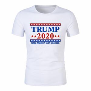 Hommes Donald Trump 2020 T-shirt O-cou à manches courtes T-shirt Drapeau Etats-Unis d'Amérique Gardez la Grande lettre Tops T-shirt 29styles LJJA2877
