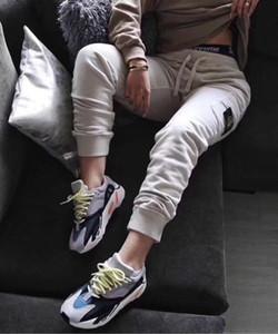 большинство новой Великобритания 2019 работают моды топов брюки хлопок удобных ткани высокого качества письмо OEM кнопка груз Beam брюки для мужчин и женщин