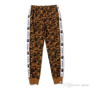 Al por mayor de otoño invierno Adolescente Desierto Camo Terry Causel Sportswear Pantalones amante del deporte de Hip Hop de los pantalones tallas M-2XL