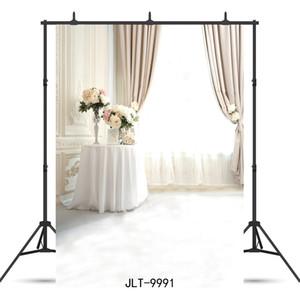fenêtre rideau étage fond photographie portrait studio vinyle pour toile de fond douche portrait bébé enfant photo photocall