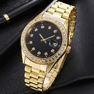 Установите в дрель роскошные часы для мужчин любителей женщин дизайнер часов 12 стилей моды алмаз автоматический календарь леди Наручные часы Бесплатная доставка