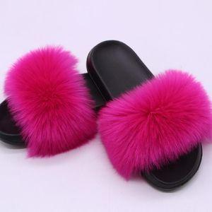 New Summer Women Slippers Slides Flat Plush Shoes Home Flip Flops Ladies Beach Sandals