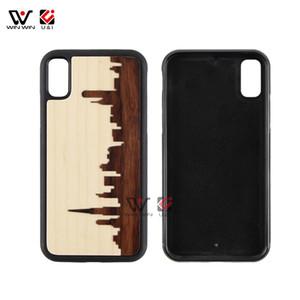 2019 best seller moda mix de madeira móvel mobile phone case para iphone 6 7 8 plus x xr xs max