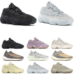 500 kanye west scarpe da corsa Soft Vision Salt Bone White 700 Alvah Azael 380 Mist Alien sneaker da uomo di design di lusso 36-45