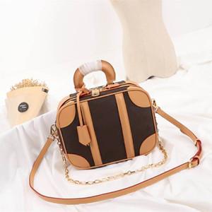 Модные мини дизайнерские сумки Новые поступления Роскошные женские сумки высокого качества Luggages сумки размер 25x20x10см модель M44581