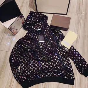 Großhandelsfrauen Hoodie Mode Frühjahr dünne Hoodie weiche Baumwolle gedruckt Hoodiesweatshirt s-xxl