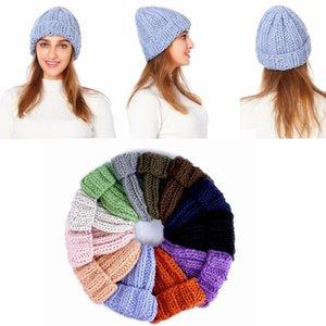 Женские зимние шапки для мужчин Skullies шапочки теплая шапка твердые наружные шапки унисекс шапочки Kintted Hat MMA2329-12