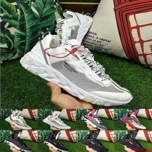 Discounts Epic React Element 87 Undercover Men Running Shoes For Women Designer Sports Mens Trainer Shoes Sail Light Bone Sneakers 36-45