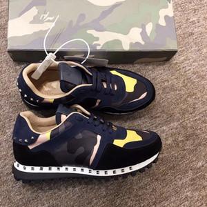 2019 economici di lusso degli uomini del progettista scarpe casual economici migliori di alta qualità delle donne degli uomini di moda scarpe da ginnastica piattaforma piattaforma velluto Chau zhan190513