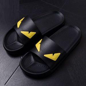 Diseñador-gner deslizadores de los zapatos de raso Persecución mujeres de las sandalias de los hombres de moda de marcas de lujo del tirón ocasional de los fracasos del deslizador