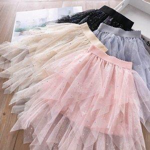 2020 nouvelles filles sequin mode jupes scintillent jupes tutu princesse vêtements enfants concepteur pour enfants filles jupe à plusieurs niveaux Ballet Tutu B605
