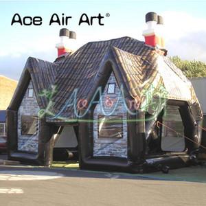 خيمة كبيرة مخصصة حانة نفخ بار ، فقاعة خيمة حانة المقصورة ، خيمة الحزب لتعزيز بيع البيرة