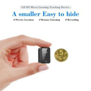 Бесплатная доставка GF09 Mini GPS Locator управления App Anti-потерянный Устройство автомобиля Tracker Magnetic Recorder для автомобиля / автомобиля / Person Местонахождение автомобиля трекер