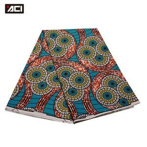 Hollandais African Fabric 6 Yards / Piece 여성을위한 진품 Hollandais African Fabric 2019