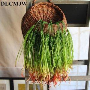 Искусственное растение 7 вилка украшение стены завода травы искусственная имитация травы украшение свадьбы Flowe