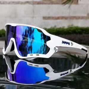 Marca di modo polarizzati Mountain Bike Sport di riciclaggio della bicicletta degli occhiali da sole UV400 Occhiali Ciclismo MTB Ciclismo Occhiali da sole Eyewear