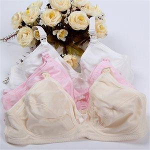 Liva menina amamentação Maternity Bra Plus Size Enfermagem Seamless Bra Cup C algodão Lingerie fio Bras gratuito para as mulheres