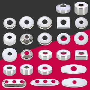 Alta calidad 4 puntos 6 puntos accesorios de grifo tubería de agua de grifo de la cubierta de acero inoxidable cubierta decorativa de la ducha de la cocina