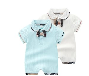 new Baby Rompers baby summer clothing cotton thin section newborn short-sleeved baby girls boys summer Jumpsuit clothes