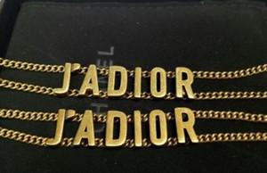 Neue D Brief Halskette heißer Verkauf Edelstahl Luxus Damen Luxus Halskette Großhandel kostenloser Versand 0960067