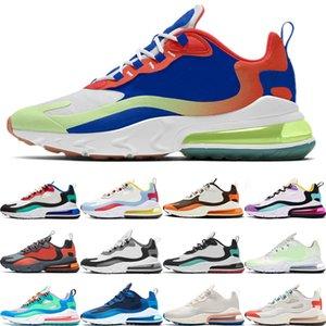 Nike air max 270 react Лучшее качество Sug8r Free реагируют мужчины женщины кроссовки Bauhaus В моей ощущению Мечта Capsule Orange мужские тренеры дышащие спортивные кроссовки