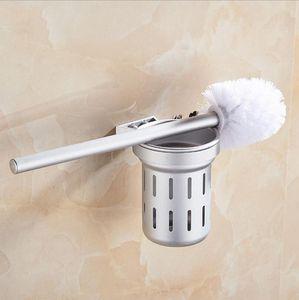 European Aluminium WC portaescobillas, titular Oxidación anódica de aluminio hueco Copa Y Copa gruesa, accesorios de baño