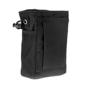 Tactique Molle Magazine Dump Goutte Munitions Chasse Utilitaire Pochette Rifle Mag Porte-Pochette Sacs Mesh Pocket