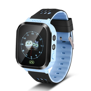 Y21 GPS Children Smart Watch Supports Phone Call Anti Lost Bracelet Baby Location Device Tracker Kids Safe Smart Wristwatch For Android iOS