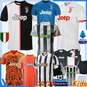 Tay 2019/20 YENİ Dördüncü RONALDO SARAYI JUVENTUS Futbol Forma Ev Custom DE ligt DYBALA HIGUAIN BUFFON Erkekler + Çocuklar Futbol Gömlek
