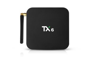 Android 9.0 TX6 TV Box With H6 Quad core 4GB 32GB Streaming Media Player Support 2.4G 5G Wifi BT5.0