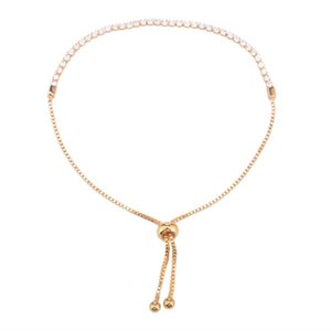 26cm Party Gifts Daily Alloy Rhinestone Fashion Exquisite Adjustable Dressing Women Bracelet