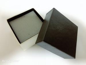 7 * 7 * 4 centímetros quadrados pequena incenso colisão esponja jóias caixa de armazenamento céu e caixa de presente cobertura de terra caixa de jóias preto de alto grau