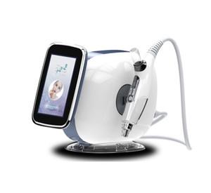 Cilt Bakımı EMS Microneedle rf makine Yok İğne Meso Mezoterapi Tabancası Enjektör Yüz Germe güzellik salonu ekipmanları