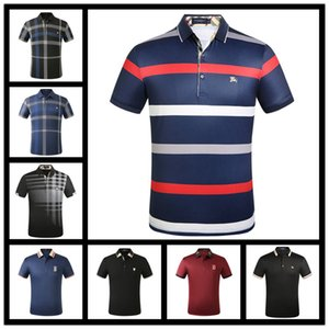 Spring Brand Designer Polos Men Casual T Shirt Embroidered Pattern Polo Shirt High Street Collar Luxury Polos Shirts
