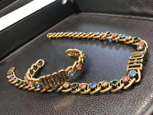 Women Brass material opened punk bangle with colorful diamond for women jewelry wedding gift drop shipping PS5314