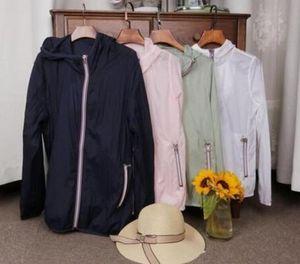 Hot in vendita nuovo delle donne e degli uomini a rapida essiccazione a maniche lunghe zip pelle indumento protezione solare donne con cappuccio indumento cappotto Jackets