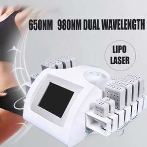 650nm 980nm lipolaser жира снижение растворяя машина липо целлюлит липо лазер похудение оборудование на продажу