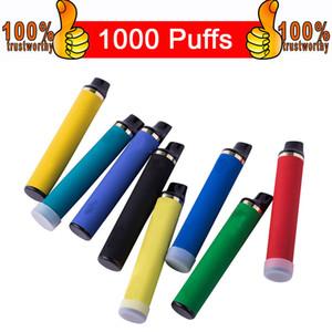 MR descartável Pod Dispositivo Starter Kit 3,5 ml Cartucho 600mAh 9 cores Vape Bar Pen 1000 Puffs vaporizador Pen E-Cartridge