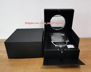 뜨거운 판매 최고 품질 허브 시계 원래 상자 논문 카드 투명 유리 나무 선물 상자 핸드백 킹 파워 HUB4100 2892 시계