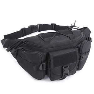 Phone Pouch Waist Bag Durable Hiking Waterproof Oxford Hip Pack Belt Running Adjustable Multi Pockets Outdoor Climbing Sports