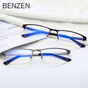 البنزين الضوء الأزرق حجب نظارات الرجال ألعاب الكمبيوتر نظارات ذكر ساحة سبيكة نظارات الإطار UV400