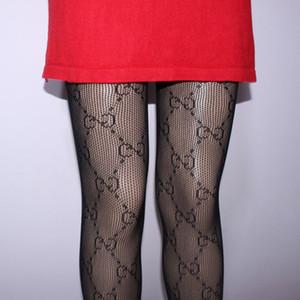 여자 럭셔리 스타킹 문자 인쇄 섹시 얇은 실크 스타킹 여성 스타킹 스티커 여성 여성 Tigths 속는 긴 양말 팬티 스타킹