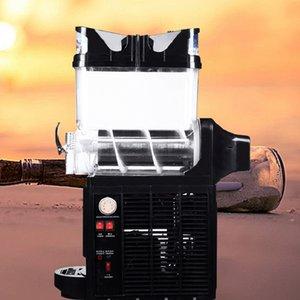 Alta calidad de la nieve cilindro eléctrico máquina de batido de la máquina de fusión única máquina de producción rápida y eficiente comercial